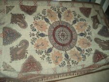 Traditional Style Throw /  Wall Hanging 135 x 200 Paisley Pattern Designs