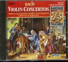 Bach / Violin Concertos Volume 8 - Baroque Treasuries - New & Sealed