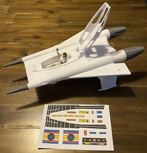 """3D Printed Buck Rogers Starfighter Thunderfighter Scaled For 3-3/4"""" Figures"""