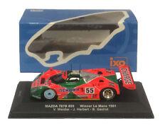 IXO LM1991 Mazda 787B Le Mans Winner 1991 - Weidler/Herbert/Gachot 1/43 Scale