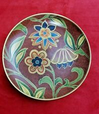 ORIENTAL ACCENT COVINGTON COLLECTION DECORATIVE PLATE Red Teal Black Gold Green