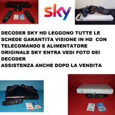 decoder my sky hd PER TUTTE LE SCHEDE VISIONE HD GARANTITA mod.p990 COMPLETO