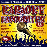 Karaoke Favourites CD MUSIC ALBUM DISC EXCELLENT RARE AU STOCK