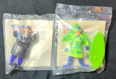 1991 Inspector Gadget Burger King Go Go Gadget Gizmos lot of 2 New