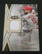 2020 Topps Tier One Matt Carpenter Relic Card 194/395 St. Louis Cardinals