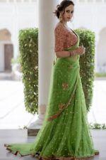 Indian Bollywood Sari Saree Banglori Net Pakistani Designer Patry Wear Saree