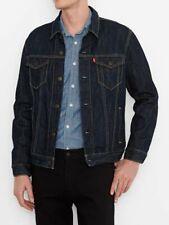LEVI'S MEN'S INDIGO DENIM TRUCKER JACKET Style # 723340134  Size: L