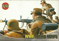 AIRFIX 1:72 WWII AFRIKA KORPS II G M 48 SOLDATINI DA COLORARE  ART 01711 SERIE 1