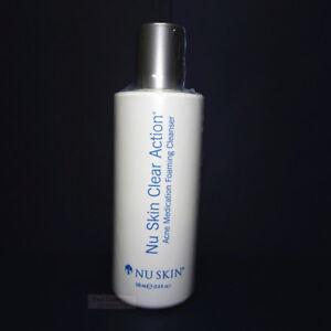Nu Skin Nuskin Clear Action Acne Medication Foaming Cleanser 3.4oz 100ml Sealed