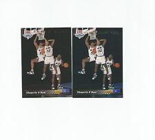 1992-93 Upper Deck Basketball set Shaquille Shaq O'Neal rookies 1a & 1b trade
