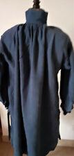 Vêtement ancien - Blouse regionale de travail ou biaude -bleue marine