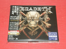 2018 JAPAN MEGADETH KILLING IS MY BUSINESS 35TH THE FINAL KILL BLU-SPEC CD