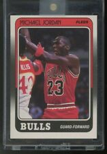 1988 Fleer MICHAEL JORDAN #17 Base HOF GOAT Chicago Bulls 3rd Year NICE!!!