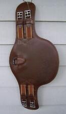"Prestige Short Stud Belly Girth Eventer Jumper, Cognac, 65cm - 26"""