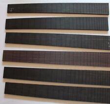 Proprio legno TASTIERA fretboard 24 confederazioni Fender Mensur