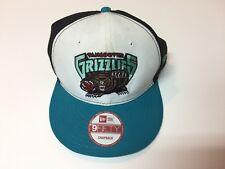 VTG NEW ERA Vancouver GRIZZLIES Basketball NBA Snapback Hat Cap