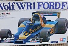 Tamyia 1/12 scale series Wolf WR1 Ford F1 kit
