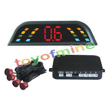 4 sensori di parcheggio dell'esposizione di LED del sistema Red 230 millimetri