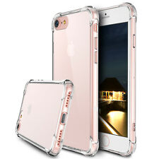 Clear Armor Case Shockproof Hard Bumper Back Cover for iPhone X 5s SE 6 7 8 Plus