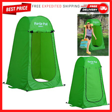 New listing Outdoor Portable Pop-up Shower Tent Camping, Privacy Changing Room, Beach Toilet