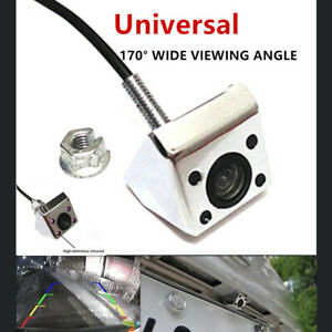 """""""Car Rear View Camera 4 LED Night Vision Waterproof CCD Wire 170 Degree """"Dark"""