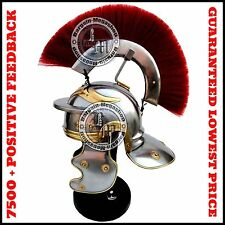 Mittelalter Roman Centurion Helm, vollständig tragbare Best für Rollenspiel Griechisch Kostüm