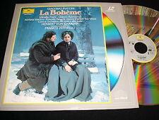 """PUCCINI~LA BOHEME<>12"""" Laserdisc<>UK DEUTSCHE GRAMMOPHON <>DG 072 205-1"""