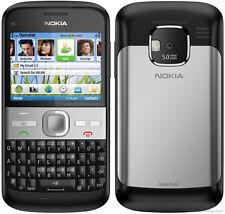 Nueva Cámara NOKIA E5-00 - 5MP - 3G-Negro-Gps-Wifi - Desbloqueado