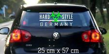 Hardstyle Motiv 4 - Aufkleber 25 x 57 cm - Hardstyle Germany