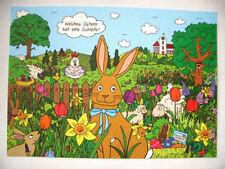 *Rate&Such*Postkarte*Ostern*Welches Osterei hat eine Schleife?*10 x 15cm*