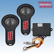 WIRELESS WINCH REMOTE CONTROL TWIN HANDSET WINCHMAX BRAND 12V 12 VOLT