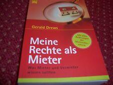 Meine Rechte als Mieter von Gerald Drews