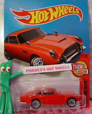 Case D 2016 i Hot Wheels ASTON MARTIN 1963 DB5 #101✰Red; bbs✰Then and Now