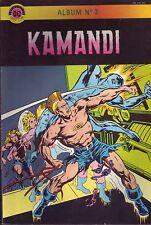 Kamandi Album N°3 (Avec N°4 et 5) - Arédit DC Comics - 1981 - BE