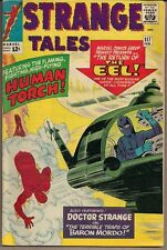 STRANGE TALES #117 MARVEL 02/64 HUMAN TORCH EARLY DOCTOR STRANGE STORY DITKO VF-