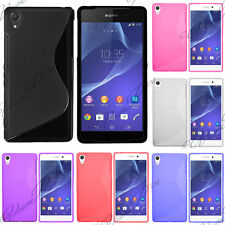 Cover Case Wallet Silicone Gel Fine For sony Xperia T3