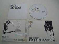 HAMMERSCHMIDT/NUR GEREDET(DOTT/DOTT201011)CD ALBUM