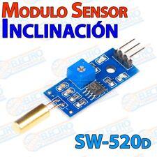 Modulo sensor inclinacion SW-520D Tilt alarma interruptor - Arduino Electronica