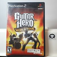Guitar Hero : World Tour ( Sony Playstation 2 PS2 ) TESTED