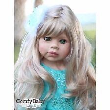 """NWT RARE Masterpiece Dolls Jasmine Blonde With GREEN Eyes By Monika Levenig 39"""""""