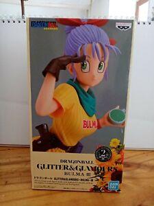 Dragon ball Glitter & Glamours Bulma 3 Ver. B Figure - Banpresto - Ban Dai