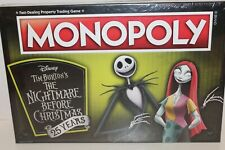 Monopoly Disney Tim Burton's The Nightmare Before Christmas 25 Years Anniversary