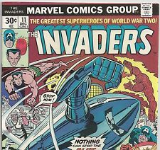 The Invaders #11 Captain America Sub-Mariner Human Torch from Dec1976 in Fine+