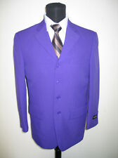Men's basic suit Polyester 3 button suit  by Milano Moda 802P