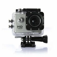 DBPOWER Waterproof Action Camera 12MP 1080P HD with 2 Batteries