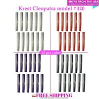 Krest Cleopatra 420 Hair Combs Hair Cutting Combs Barber's Hairstylist Comb 12Pk