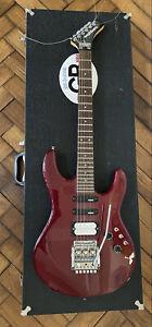 Washburn Electric Guitar G10V Dark Cherry Red 1980s