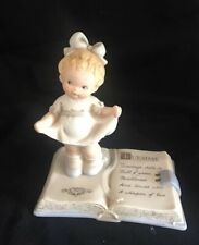 Tuesday'S Child Lucie Attwell Porcelain Figurine 1993 Enesco In Box w Tag