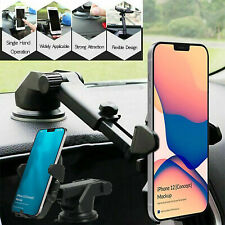 360° Mount Holder Car Windshield Stand For Cell Phone iPhone 12 Pro Samsung GPS