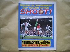 SHOOT MAGAZINE - 19TH DECEMBER 1970 - CHELSEA IN CUP-WINNERS CUP ACTION